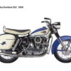 Thumbnail image for 1960 Harley-Davidson XLH XLCH Sportster Service Repair Workshop Manual