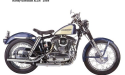 Thumbnail image for 1964 Harley-Davidson XLH XLCH Sportster Service Repair Workshop Manual