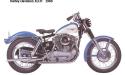 Thumbnail image for 1968 Harley-Davidson XLH XLCH Sportster Service Repair Workshop Manual