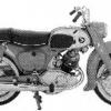 Thumbnail image for Honda C95 CA95 Benly 150 Manual