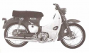 Thumbnail image for Honda C90 CE90 C90M CM91 Super Cub 90 Manual