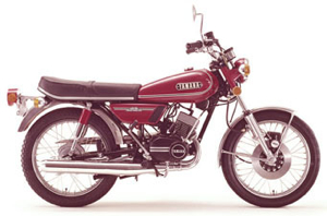 Yamaha RD125 RD 125 Service Repair Workshop Manual
