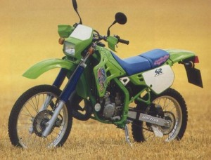 Kawasaki KDX125 KDX 125SR 125 Service Repair Workshop Manual