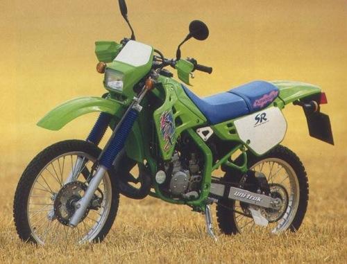 Kawasaki Kdx125 Kdx 125sr 125 Manual