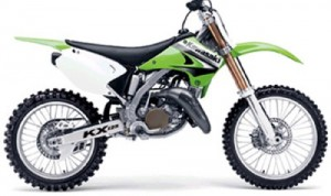 03-05 Kawasaki KX125 KX 125 Service Repair Workshop Manual
