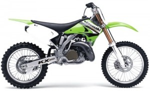 03-05 Kawasaki KX250 KX 250 2 Stroke Service Repair Workshop Manual