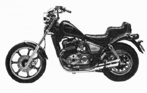85-90 Kawasaki 454 LTD EN450 Service Repair Workshop Manual