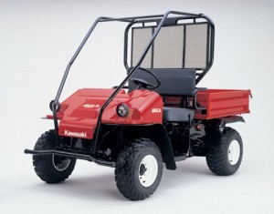 Kawasaki KAF300 Mule 550 UTV Service Repair Workshop Manual