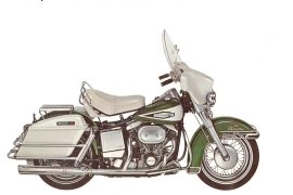 1970 Harley davidson electra glide service repair shop manual