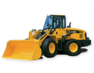 Komatsu WA200-1 Wheel Loader Service Repair Shop Manual