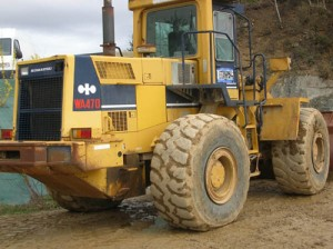Komatsu WA470-1 Wheel Loader Service Repair Shop Manual