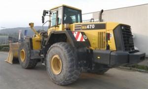 Komatsu WA470-5 WA470-5H Wheel Loader Service Repair Shop Manual