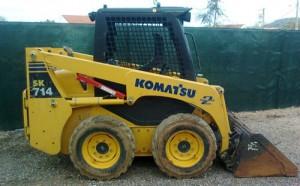 Komatsu SK714-5 Skid Steer Loader Repair Shop Manual