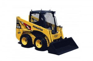 Komatsu SK815-5 Turbo Skid Steer Loader Repair Shop Manual