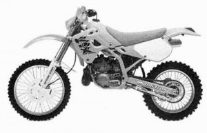 Kawasaki KDX250 KDX 250 Service Repair Workshop Manual