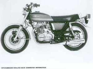 Kawasaki KZ400 Z400 Service Repair Workshop Manual
