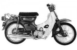 Honda C70 Cub 70 C70M CL70 Passport Service Repair Workshop Manual