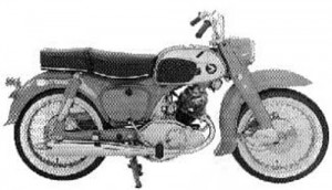 Honda C95 CA95 Benly 150 150cc Service Repair Workshop Manual