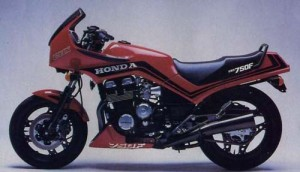 Honda CBX750F CBX750 CBX 750F Service Repair Workshop Manual