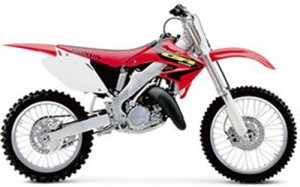 Honda CR125R CR125 CR 125 Service Repair Workshop Manual