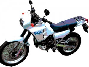 Honda NX250 NX 250 Dominator Service Repair Workshop Manual