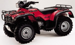Honda TRX400FW TRX400 Foreman 400 ATV Service Repair Workshop Manual