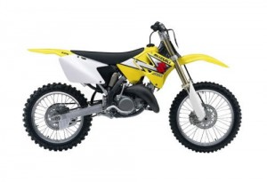 Suzuki RM125 RM 125 Service Repair Workshop Manual