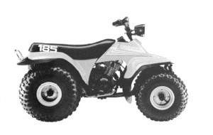 Suzuki    LT185 LT 185    QuadRunner    Manual