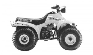 Suzuki QuadRunner LT230GE LT 230GE Service Repair Manual