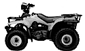 Thumbnail image for Suzuki QuadRunner 300 LT300E LT-F300 Manual