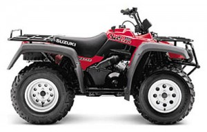 suzuki quadmaster 500 lt-a500f lta500f service repair workshop manual