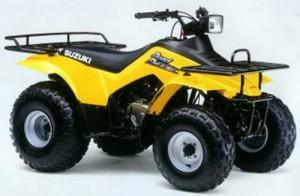Suzuki       QuadRunner    LT160E LTF160 LTF160 LT160 Manual