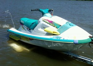 yamaha waveraider 760 ra760 pwc watercraft manual