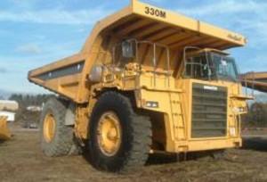 Komatsu 330M Dump Truck Manual