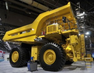 Komatsu 860E-1KT Dump Truck Manual