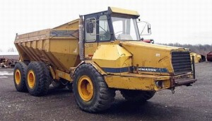 Komatsu HA270 HA 270 Dump Truck Manual