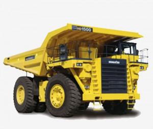 Komatsu HD1500-5 Dump Truck Manual