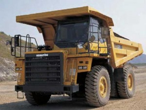 Komatsu HD325-7 Dump Truck Manual