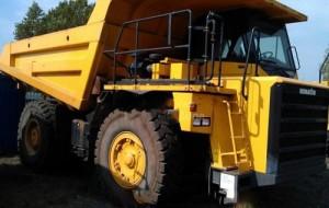 Komatsu HD405-7 Dump Truck Manual
