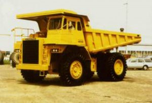 Komatsu HD465-3 Dump Truck Manual