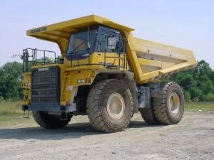 Komatsu HD465-7 Dump Truck Manual