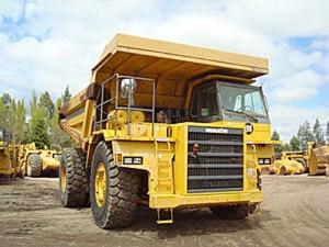 Komatsu HD605-5 Dump Truck Manual