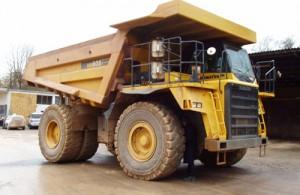 Komatsu HD605-7 Dump Truck Manual