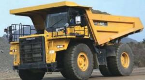 Komatsu HD605-7E0 Dump Truck Manual