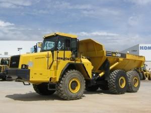 Komatsu HM350-1L Dump Truck Manual