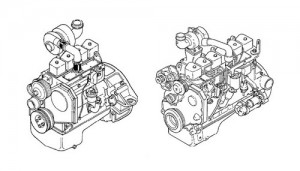 Komatus KDC 410 610 Series Engine Manual