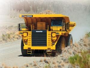 Komatsu HD1500-7 Dump Truck Manual