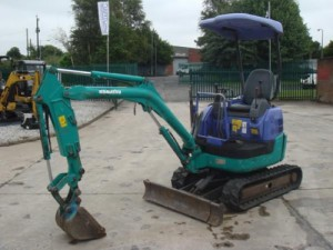 Komatsu PC15MR-1 Manual
