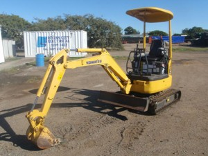Komatsu PC18MR-2 Manual