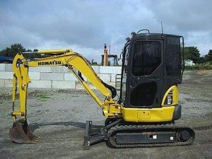 Komatsu PC27MR-3 Manual